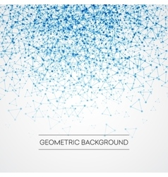 Abstract background with dotted grid and vector image