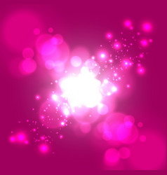 Abstract light with color background vector