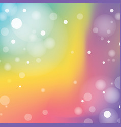 airy circular color mesh background eps10 vector image
