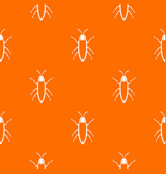Cockroach pattern seamless vector