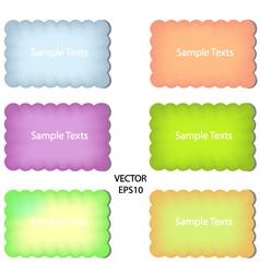 Color paper vector