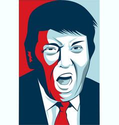 Donald trump vector