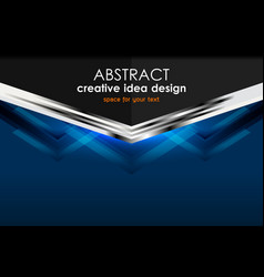 geometric abstract backgrounds design vector image