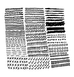 hand drawn doodle sketch line vector image