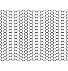 Hexagonal cell texture honey hexagon cells vector