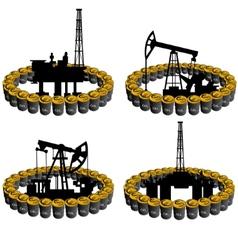 Petroleum business-5 vector image