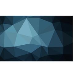 polygon blue gradient background vector image