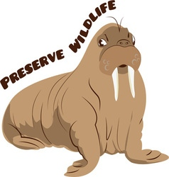 Preserve Wildlife vector