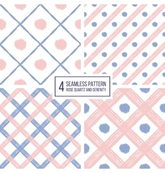 seamless pattern diagonal stripes and circle in vector image