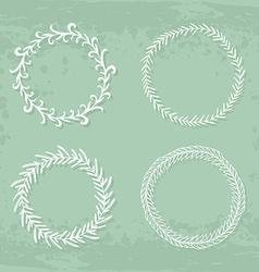Wreaths Collection vector