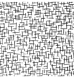 Abstract strokes seamless pattern for your design vector image vector image
