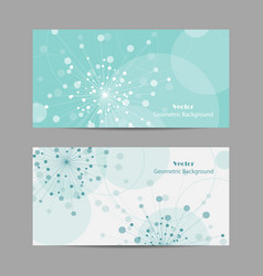 abstract geometric design banner web vector image