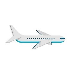 airplane fly flying icon vector image