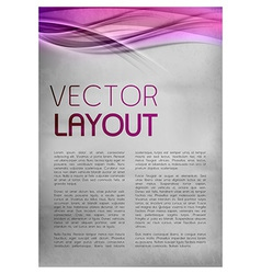 Background purple layout vector