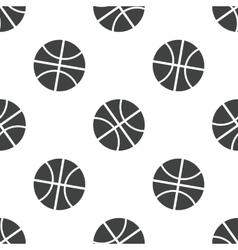 Basketball pattern vector image