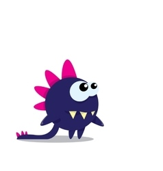 Cartoon funny dragon Cartoon Dinosaur vector
