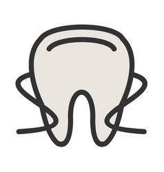Dental floss i vector