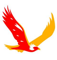 eagle bird symbol vector image