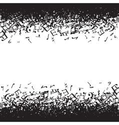 Music border vector