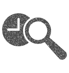 Find Time Grainy Texture Icon vector image