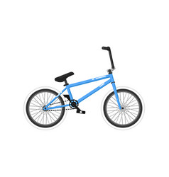 bmx sport bicycle isolated icon vector image vector image