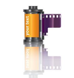filmstrip icon vector image