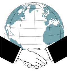 global business vector image vector image