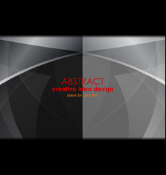 grey abstract backgrounds design vector image