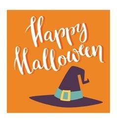 Halloween invitation cards vector image