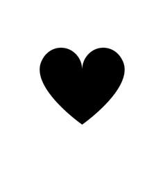 heart confetti falling vector image