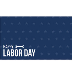 Labor day style design background vector