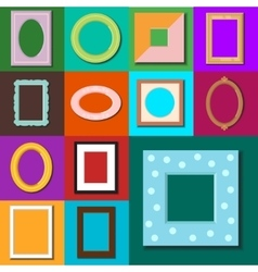 Photo frame isolated vector