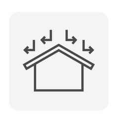 Rohome icon vector