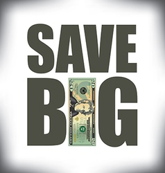 Save Big Twenty vector