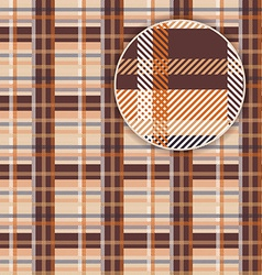 Tartan Pattern Background vector image