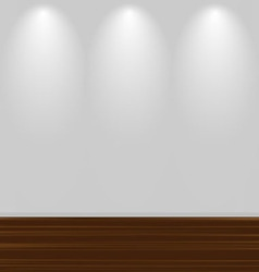 wooden floor vector image