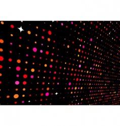 disco lights vector image vector image