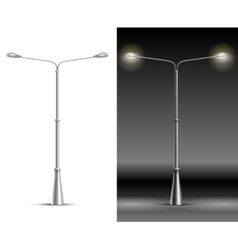 Street Lamp Lanterns vector image vector image