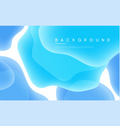 abstract minimalist background with liquid vector image