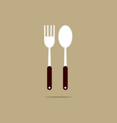 Food festival logo template design vector