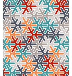 Geometric islamic pattern color arabic vector