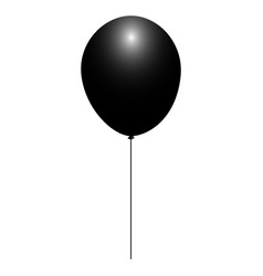 isolated balloon icon vector image
