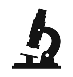 Microscope modern simple icon vector