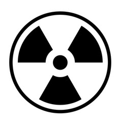 nuclear icon vector image
