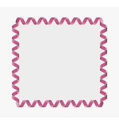 Ribbon frame vector