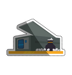Safe strongbox diamonds fingerprint vector