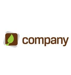 healthcare training logo vector image vector image