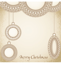 new years holiday hand-drawn background vector image vector image