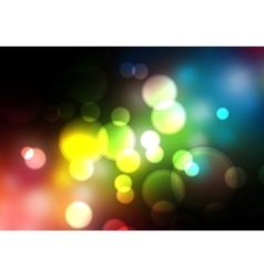 Abstract blurred background Colorful vector image