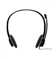 Headset vector
